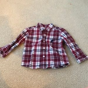 Disney parks Mickey Mouse button down shirt